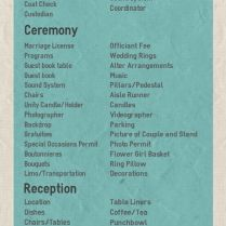 25 Best Ideas About Wedding Reception Checklist On Emasscraft Org