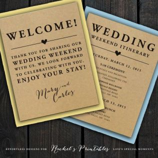 25 Best Ideas About Wedding Welcome Letters On Emasscraft Org