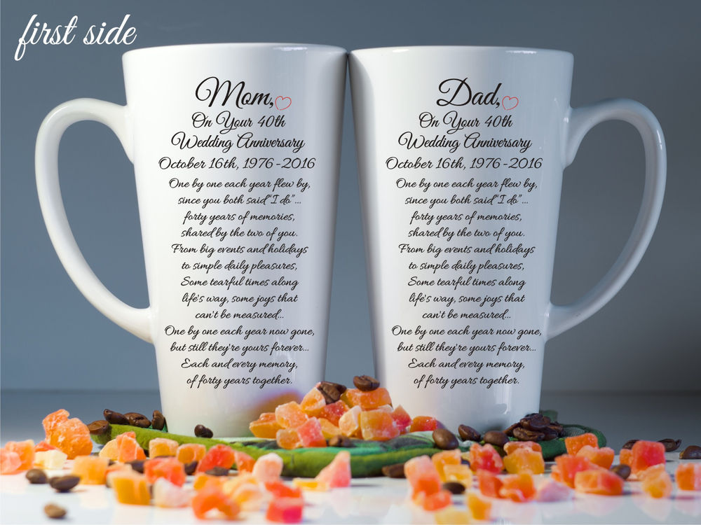 30th Wedding Anniversary Gift Parents