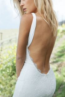 60 Perfect Low Back Wedding Dresses