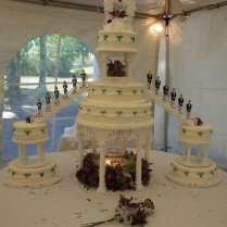6 Tiered Wedding Cakes – Wedding Celebration Blog