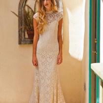 Agnes Cap Sleeve Lace Wedding Dress