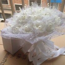 Aliexpress Com Buy Wedding Flower Handmade Silk Flowers Bridal