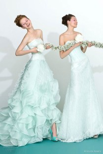 Atelier Aimée 2013 Color Wedding Dresses