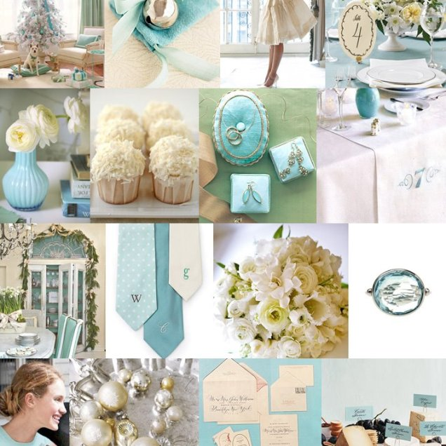 Baby Blue And White Wedding Decorations