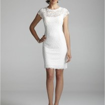 Beautiful Collections Of Short Lace Wedding Dresses
