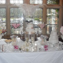 Beautiful Silver And White Wedding Candy Table 1000 Images About