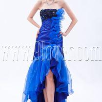 Black And Blue Wedding Dress