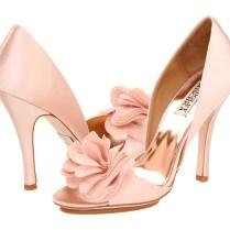 Blush, Pink, Wedding Shoes, Badgley Mischka, Bridal Shoes