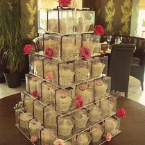 Boxed Cupcakes Wedding Favors
