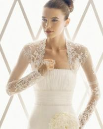 Bridal Bolero Lace Wj021 Oh Oh I Wore A Back Fastening Lace