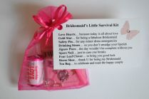 Bridesmaid Survival Kit Wedding Supplies