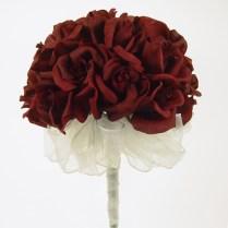 Burguandy Wedding Flowers