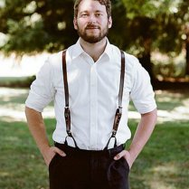 Casual Wedding Attire Men Photo Album