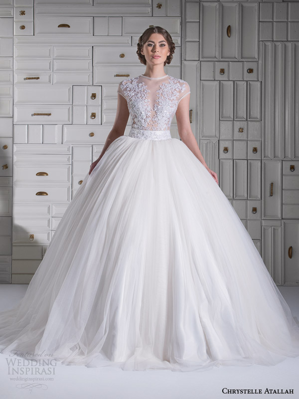 Chrystelle Atallah Spring 2014 Wedding Dresses