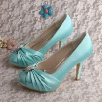 Compare Prices On Aqua Wedding Shoes