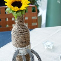 Country Western Wedding Centerpieces