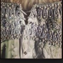 Detail Of Princess Buttercup Wedding Dress