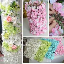 Discount Diy Colorful Hydrangea Wedding Decor Flower Pillar