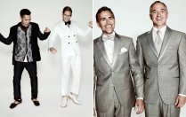 Dressing Two Grooms For A Same