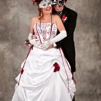 Fantasy Elegant Masquerade Ball Wedding