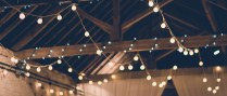 Festoon Lighting To Hire For Your Wedding