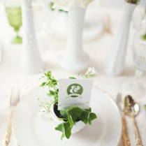 gold green white wedding place setting 17 best ideas about wedding table