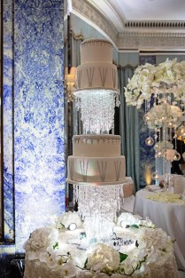 Hanging, Floating And Upside Down Wedding Cakes We Love