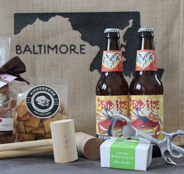 Ideas For Maryland Wedding Welcome Bags