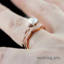 Infinity Diamond Wedding Ring – Elegance Individuality, Delicacy