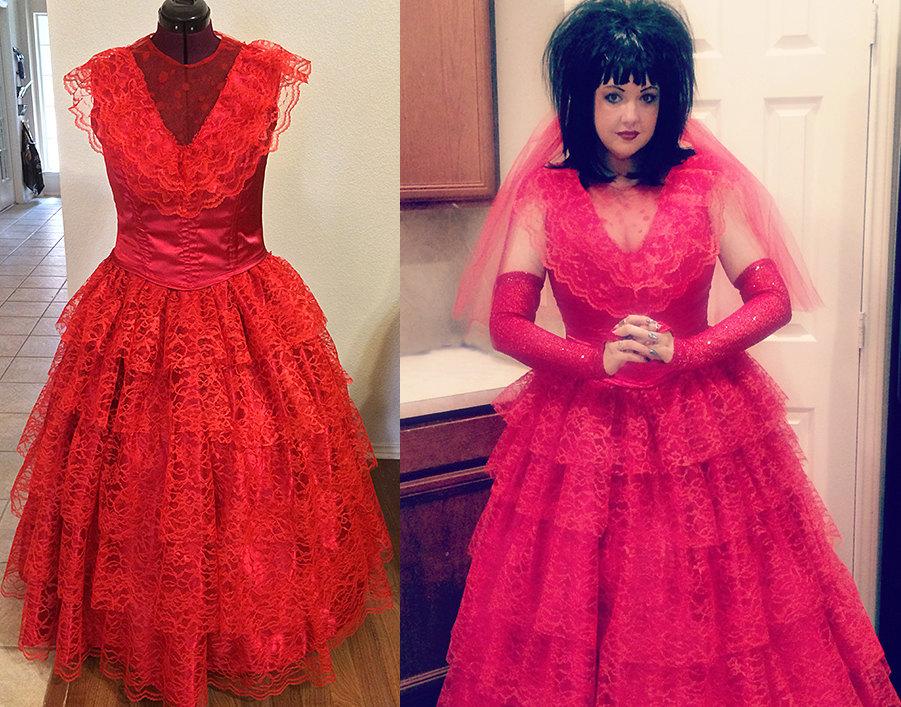 Red Wedding Dress Beetlejuice