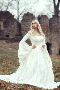 Medieval Wedding Gowns, Marie Antoinette Gowns, Gothic Wedding