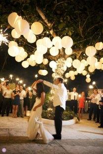 Metal Cage Garden Lantern For Dressing An Outdoor Wedding