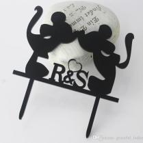 Mickey Mouse Wedding Cake Topper Wholesale Wedding Decorations