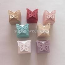 New Marriage Wedding Gift Wedding Favor Box,white Butterfly Design