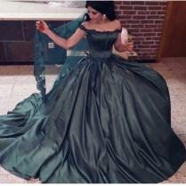 Online Buy Wholesale Dark Green Wedding Dress From China Dark