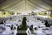 Outdoor Nederland Backyard Wedding Reception Tent