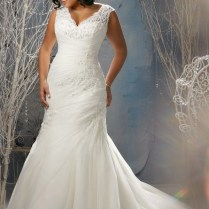 Plus Size Wedding Dresses With Straps