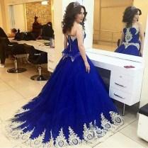 Popular Royal Blue Wedding Gowns