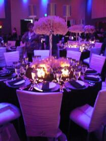 Purple Wedding Decor Vibrant Purple And Fuchsia Floral With