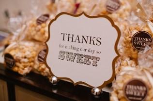 Real Wedding Inspiration Popcorn Station