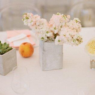 Real Wedding Outdoor Reception Under Tent Simple Wedding Flower