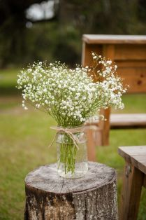Rustic Country Style Wedding In A Barn With Cute Details And