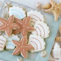 Shell And Starfish Cookies