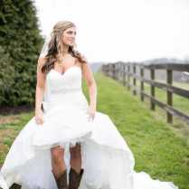 Short Wedding Dress With Boots – Dress Image Idea – Just Another
