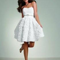 Short White Country Wedding Dresses