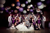 Similiar Purple And Grey Bridal Party Keywords