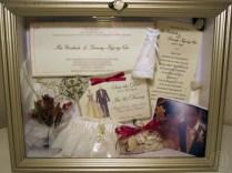 Similiar Wedding Dress Shadow Box Ideas Keywords