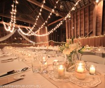 Simple Yet Elegant Wedding In A Barn Candles On A Glass Shots As