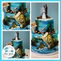Specialty & Fondant Wedding Cakes